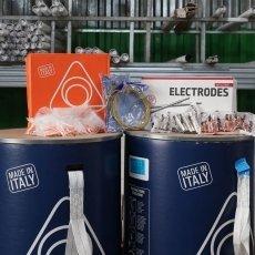 consumabili : fili , bacchette , elettrodi